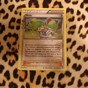 Wally Holo RC27/RC32 Pokemon Card